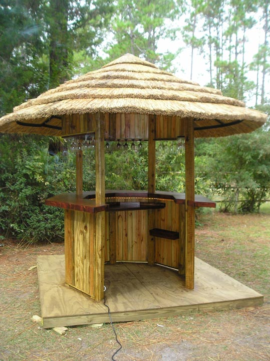 Custom Outdoor Bars For Home : Custom Rustic Wooden Products from JoeJude Enterprises to match our